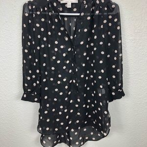 LC Lauren Conrad 3/4 sleeve Blouse